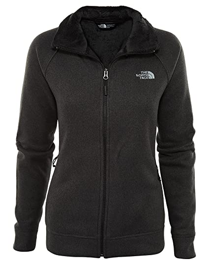 10bdb75cc The North Face Crescent Raschel Full Zip Jacket Women's TNF Black ...