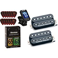 Seymour Duncan Distortion Mayhem Matched Pickup Set SH-6n,b with True Tune Tuner, Dunlop Care Kit, Fender Picks 11108-21…