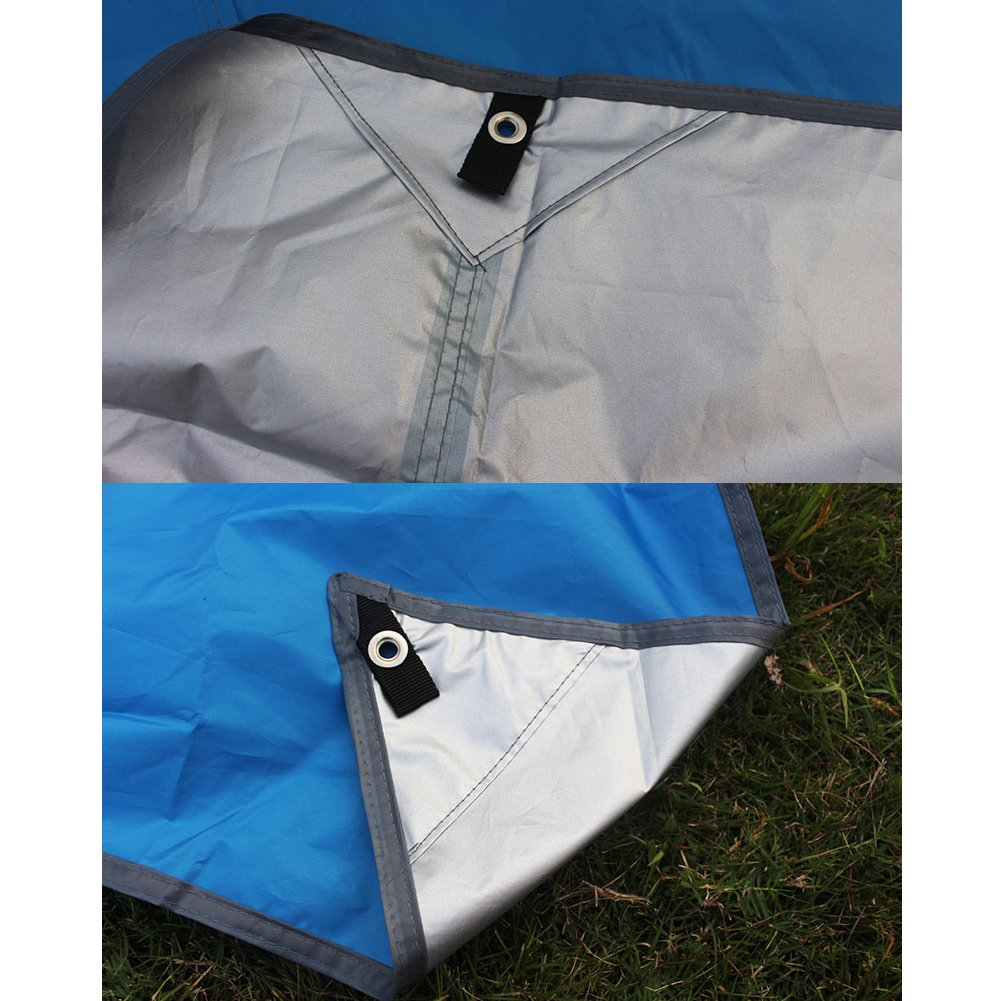 Bauhaus life Awning, Outdoor Camping, Portable Storage Can Be Used As Car Cover, UV Protection, Cooling, Waterproof Silver Cloth, Outdoor Tent Mat Indoor ...