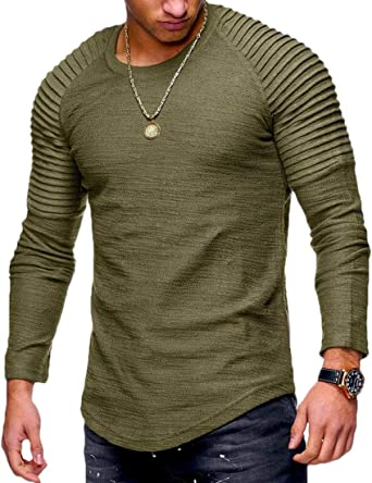 Hmarkt Mens Camouflage Sport Casual Tops Short Sleeve Slim Fit T-Shirts