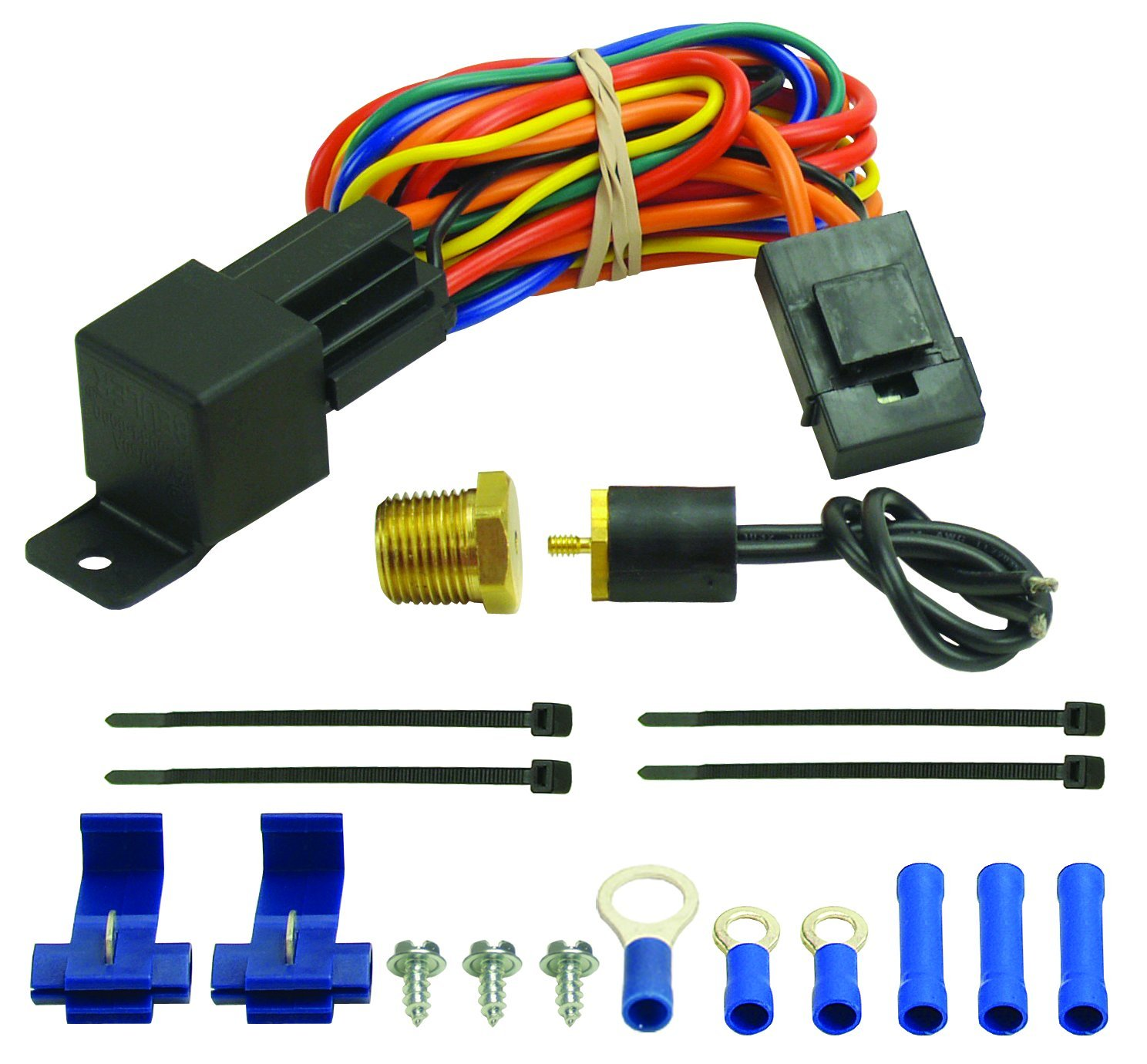 Derale 16739 180 Degree Farenheit Single Stage Electric Fan Controller