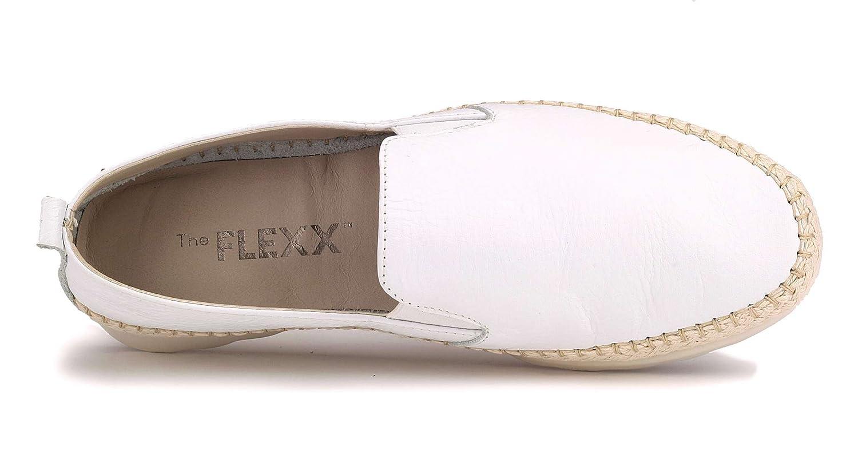 The FLEXX Weiß C122/05 Slip On Damen Weiß FLEXX 8f53cd