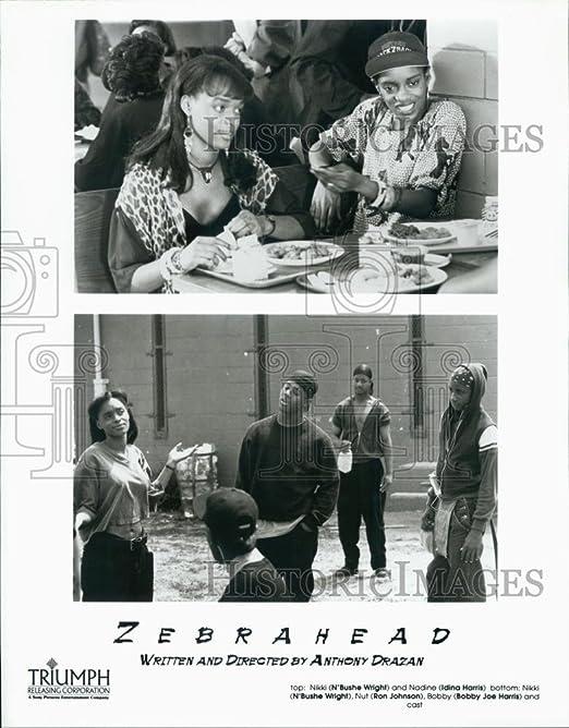 1992 prensa foto actriz N bushe Wright, Idina Harris, Ron ...