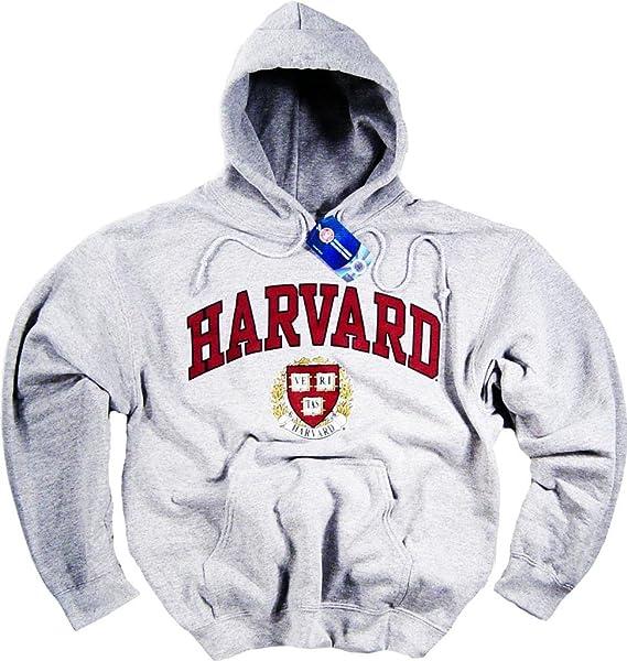 Officially Licensed by Harvard University Harvard Camiseta Sudadera con Capucha Camiseta Universidad Derecho de la Empresa Ropa Prendas de Vestir: ...
