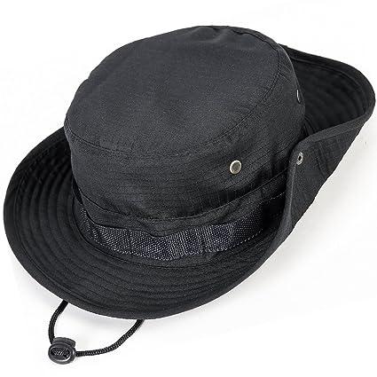 d6f78edb836e4 Unisex Militar Sombrero - Tela de algodón y poliéster suave superior ...