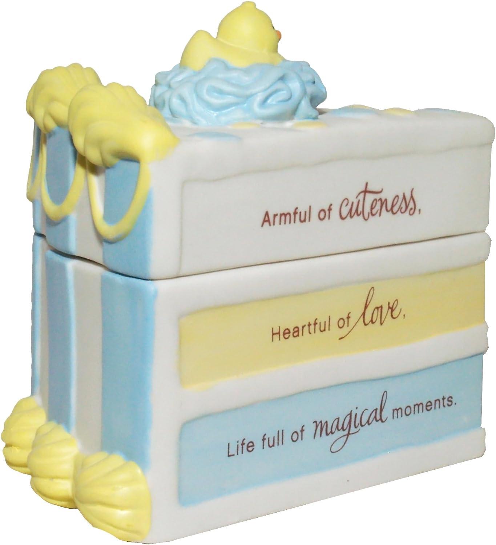 Hallmark Baby Boy Keepsake Cake Trinket Box