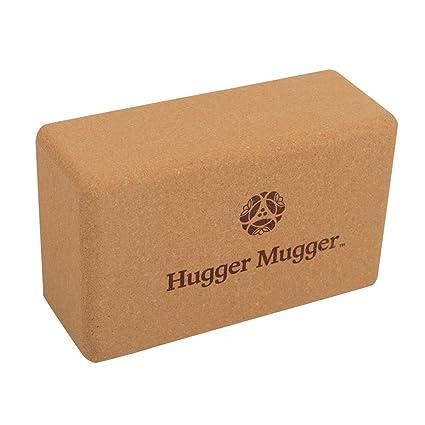 Hugger Mugger Cork Yoga Block by Hugger Mugger: Amazon.es ...