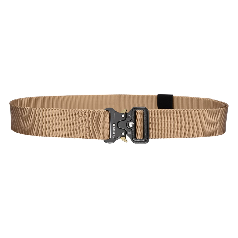 Men's Tactical Belt Heavy Duty Webbing Belt Adjustable Military Style Nylon Belts with Metal Buckle by KingMoore (Image #4)