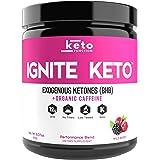 Ignite Keto Energy Supplement - 12g BHB Salts Plus Organic Caffeine - Ketone Drink for Ketosis, Energy, and Focus - Fuel…