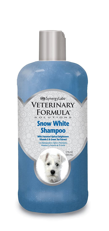 SynergyLabs Veterinary Formula Solutions Snow White Shampoo; 17 fl. oz.