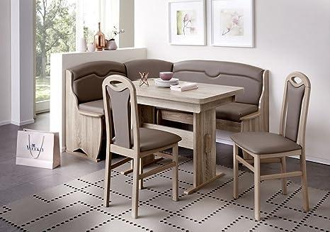Eckbankgruppe \'Wolfi\' Essgruppe 170 x 130 x 90 2 Stühle ...