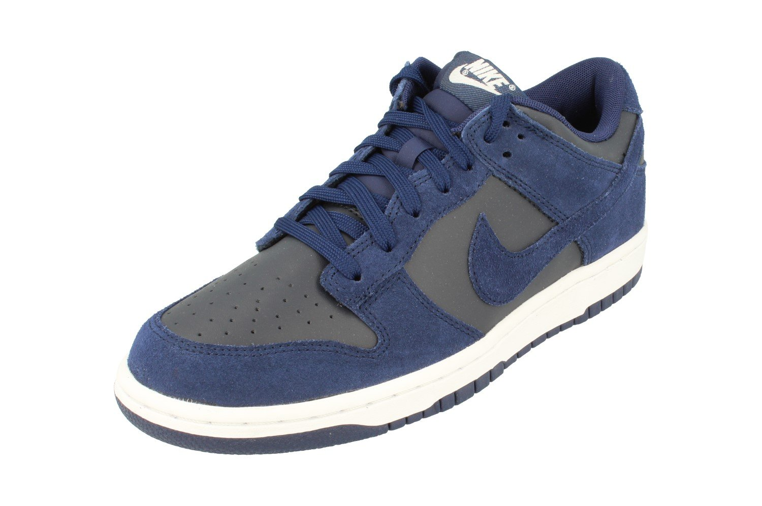 NIKE Dunk Low Mens Trainers 904234 Sneakers Shoes (US 7, Binary Blue 401)