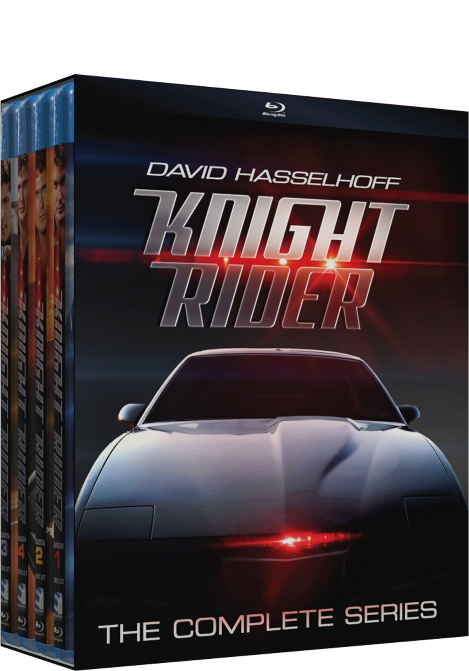 Blu-ray : Knight Rider: The Complete Series (16 Disc)