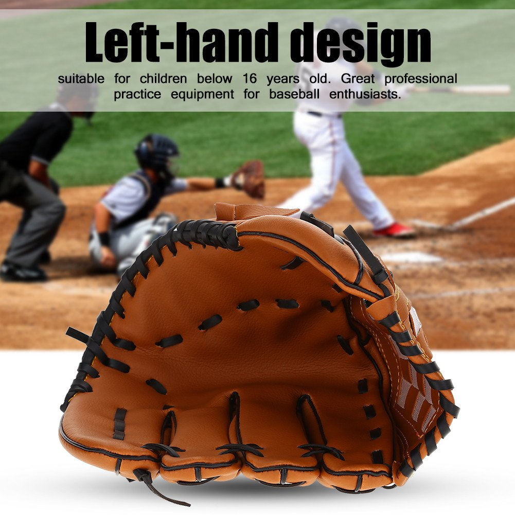 PVC Softball Practice Equipment Mano Izquierda Alomejor Guante de b/éisbol Profesional