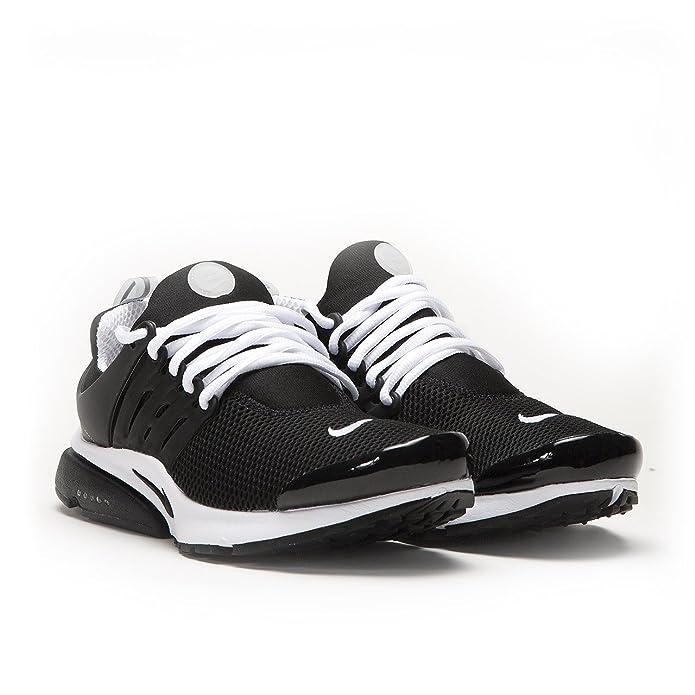 new arrivals 0b88f 1e11c Amazon.com   Men s Nike Air Presto BR QS Running Shoes - 789869 001, Black  Black-White - Size L   Road Running
