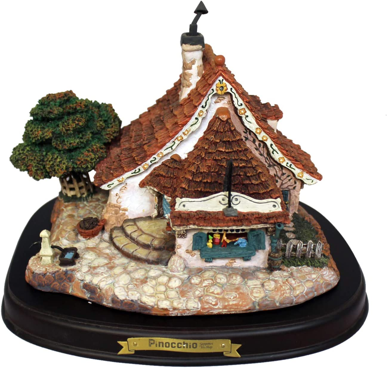 Disney Classics Figurine Gepetto Toy Shop, Model 41207