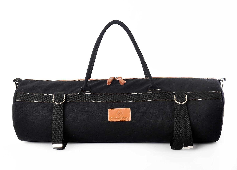 Bolsa de yoga XL »Malati« de #DoYourYoga / Hecha con un fantástico lienzo de algodón (lona) 100 %, con acabados llenos de cariño. Para esterillas de ...