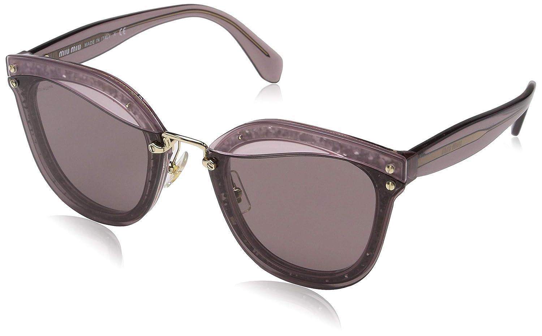 Miu Miu Mujer 0MU03TS SRO6X1 65 Gafas de sol, Rosa ...