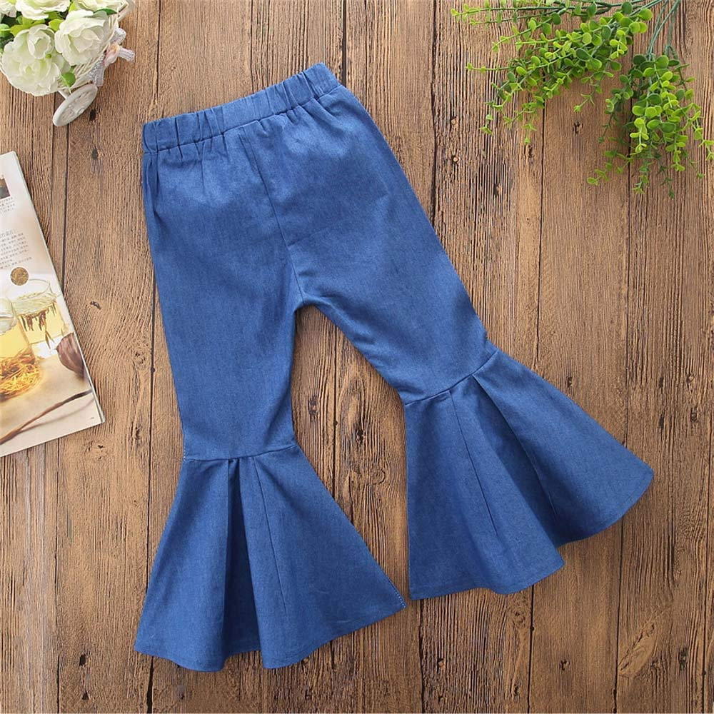 FIRERO Cute Baby Clothes Children Toddler Kids Baby Girls Boys Denim Clothes Jeans Pants
