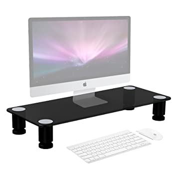 duronic dm051 r hausseur d cran support. Black Bedroom Furniture Sets. Home Design Ideas