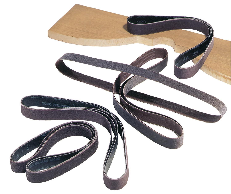 DELTA 31-375 1-Inch x 42-Inch 220 Grit Sanding Belts (5-Pack)