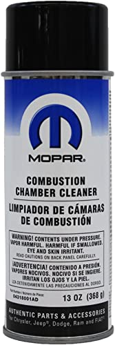Genuine Chrysler Accessories Combustion Chamber Cleaner