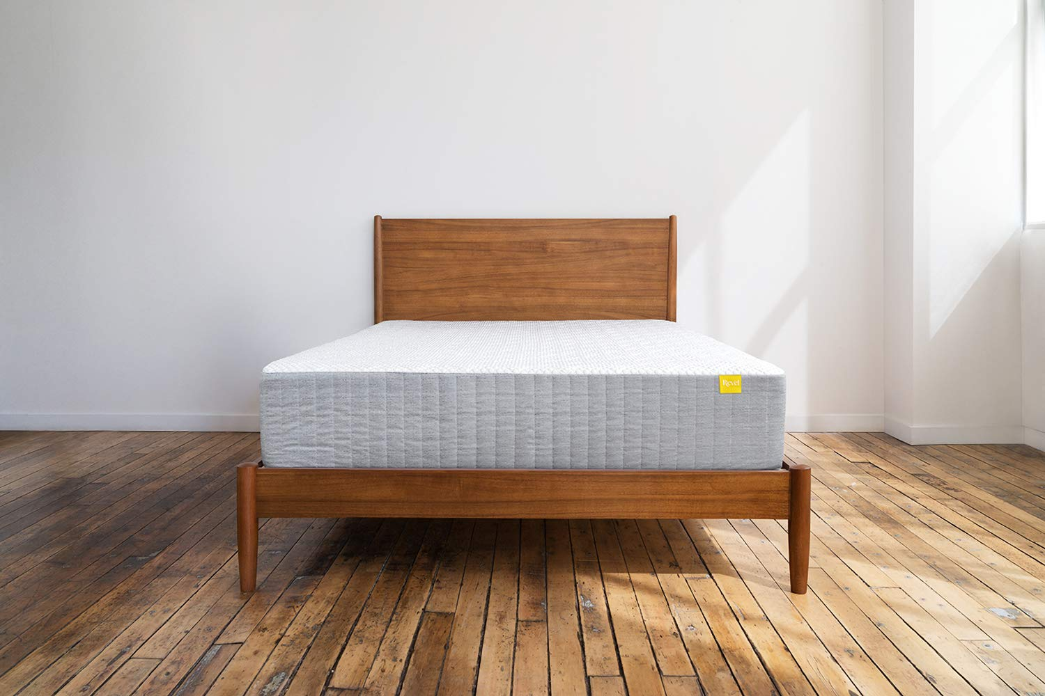 Revel Custom Cool Mattress (King), Featuring All Climate Cooling Gel Memory Foam, Made in the USA with a 10-Year Warranty, Amazon Exclusive by Revel