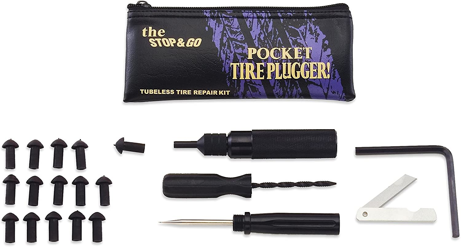 NEW  Stop Go International Stop Go Pocket Tire Plugger FOR TUBELESS TIRES