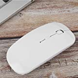 Alician CE 2.4G Mini Portable Laptop Computer Wireless Four-Way Roller Game Mouse Bluetooth Office Business Mouse red 2.4G Wireless Bluetooth