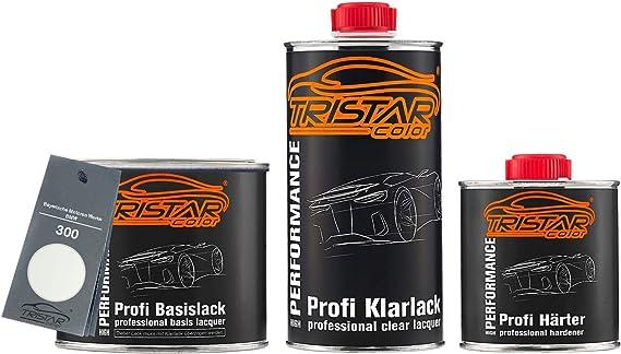 Tristarcolor Autolack Set Dose Spritzfertig Für Bayerische Motoren Werke Bmw 300 Alpinweiss Iii Alpine White 3 Basislack 2k Klarlack 1 25l Auto