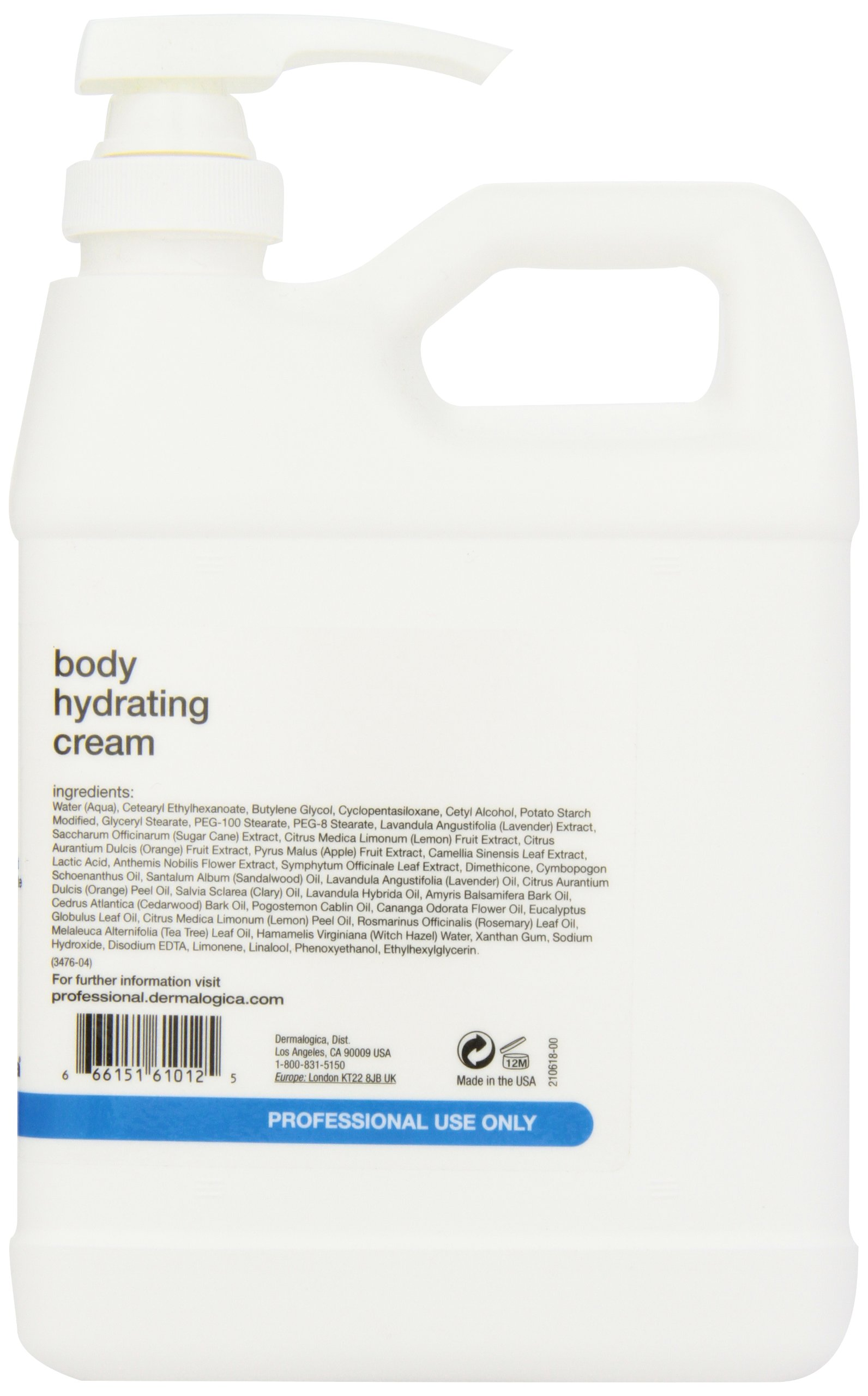 Dermalogica Body Hydrating Cream, 32 fl.oz Salon Size