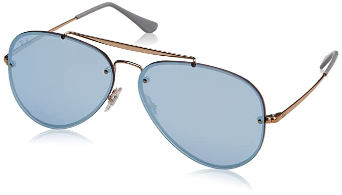 bbe6146b6e Ray-Ban 0rb3584n90531u61blaze Aviator Non-Polarized Iridium Sunglasses  COPPER 61 mm