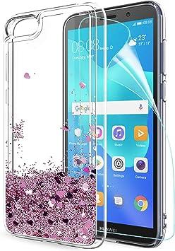 Funda Huawei Y5 2018 / Honor 7s Purpurina Carcasa con HD ...