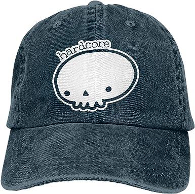 Magictop Hardcore Adultos Personalizar Jeans Sun Hat Gorra de ...