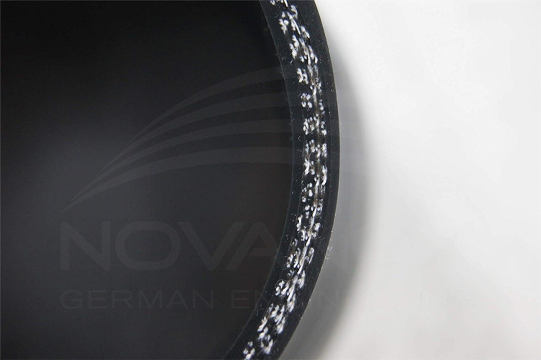 Tuyau Flexible en Silicone Noir /Ø 45 mm