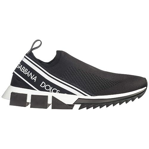 Dolce&Gabbana Sorrento Zapatillas Deportivas Hombre Nero 40 EU