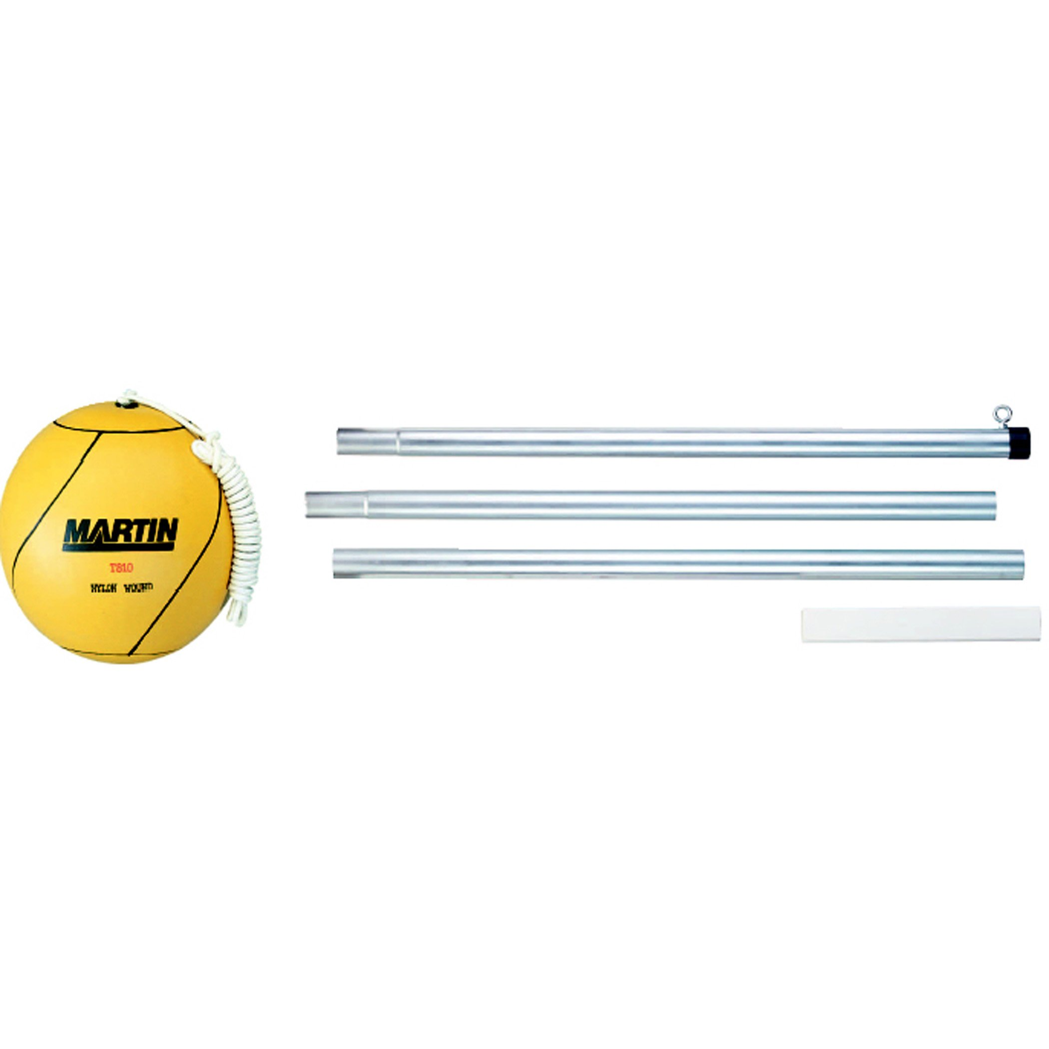 Dick Martin Sports MAST810 Tetherball Grade Kindergarten to 1, 4.4000000000000004'' Height, 5.6'' Wide, 9.6999999999999993'' Length