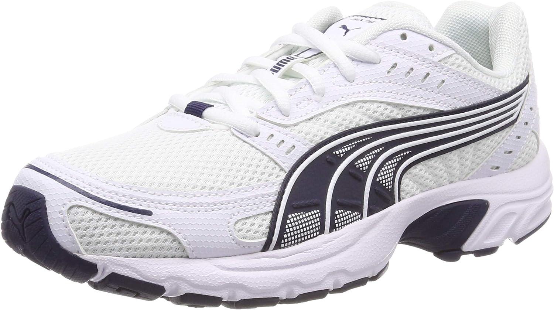 PUMA Axis, Zapatillas Unisex Adulto, Blanco White/Peacoat, 46 EU: Amazon.es: Zapatos y complementos