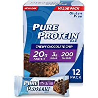 Pure Protein Bars, High Protein, Nutritious Snacks to Support Energy, Low Sugar, Gluten Free, Chocolate Peanut Butter, 1…