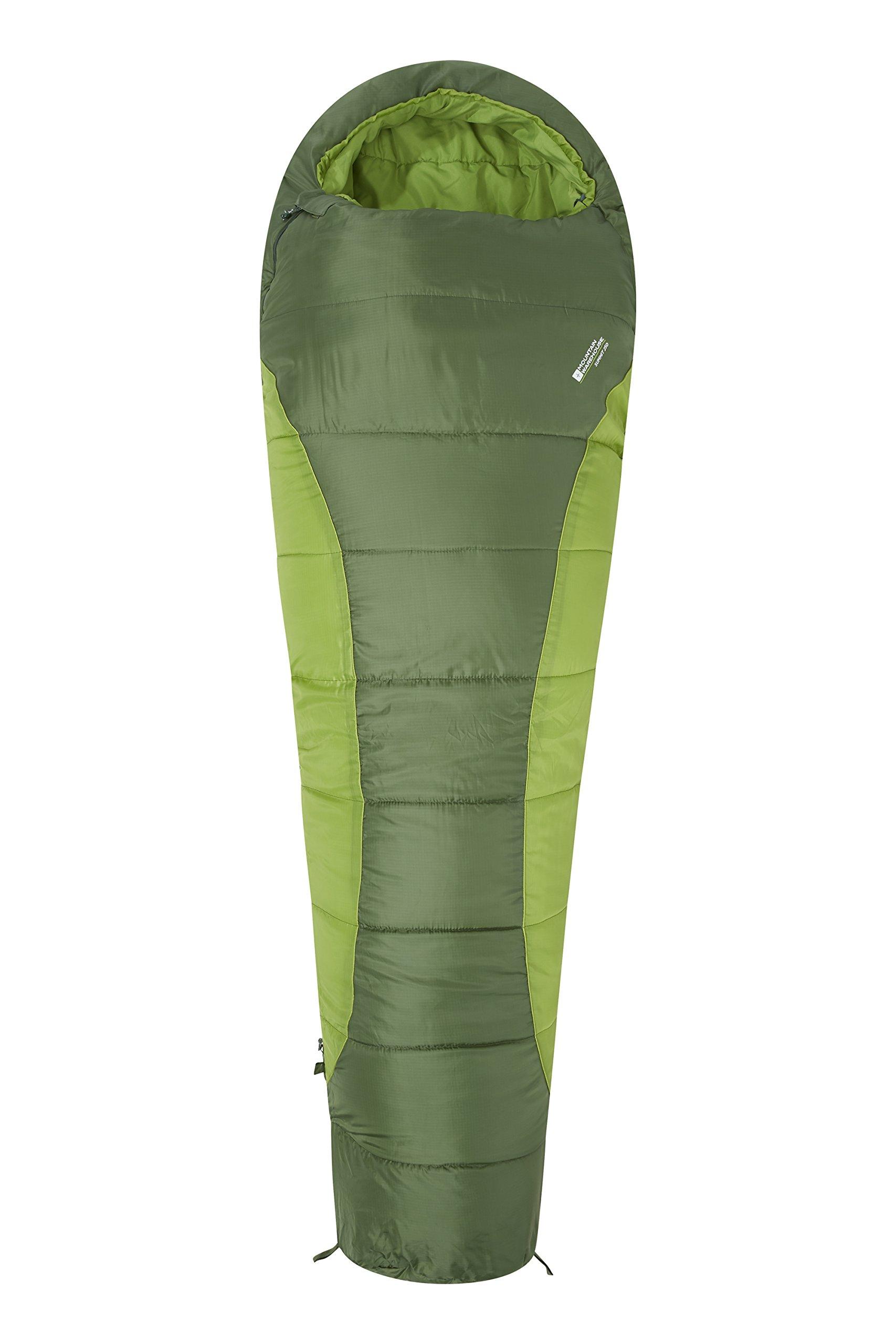 Mountain Warehouse Saco de Dormir Summit 250-22 x 40 cm - Saco de Acampada