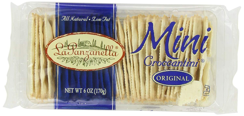 La Panzanella Original Mini Croccantini, 6 Oz Packages (Pack Of 12)