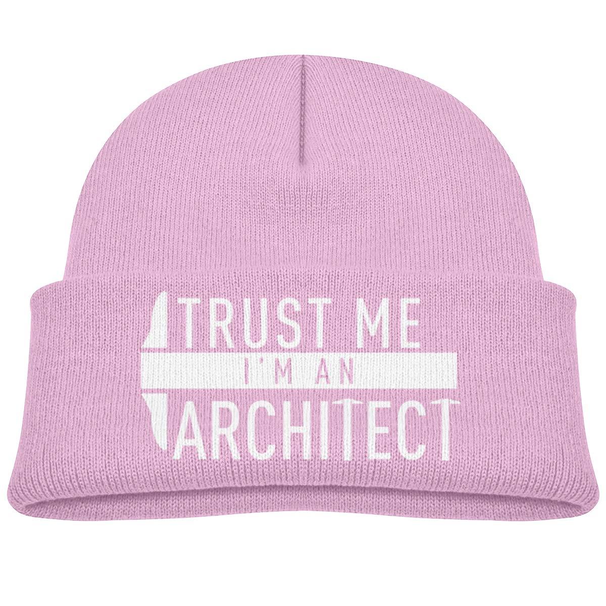 Trust Me Im an Architect Beanie Hats Baby Girls