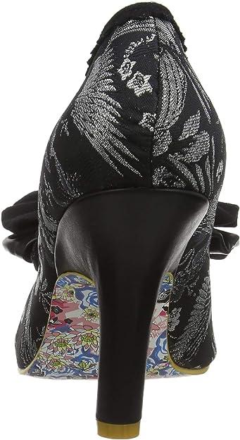 Irregular Choice Mal E Bow, Zapatos de tacón con Punta Cerrada para Mujer