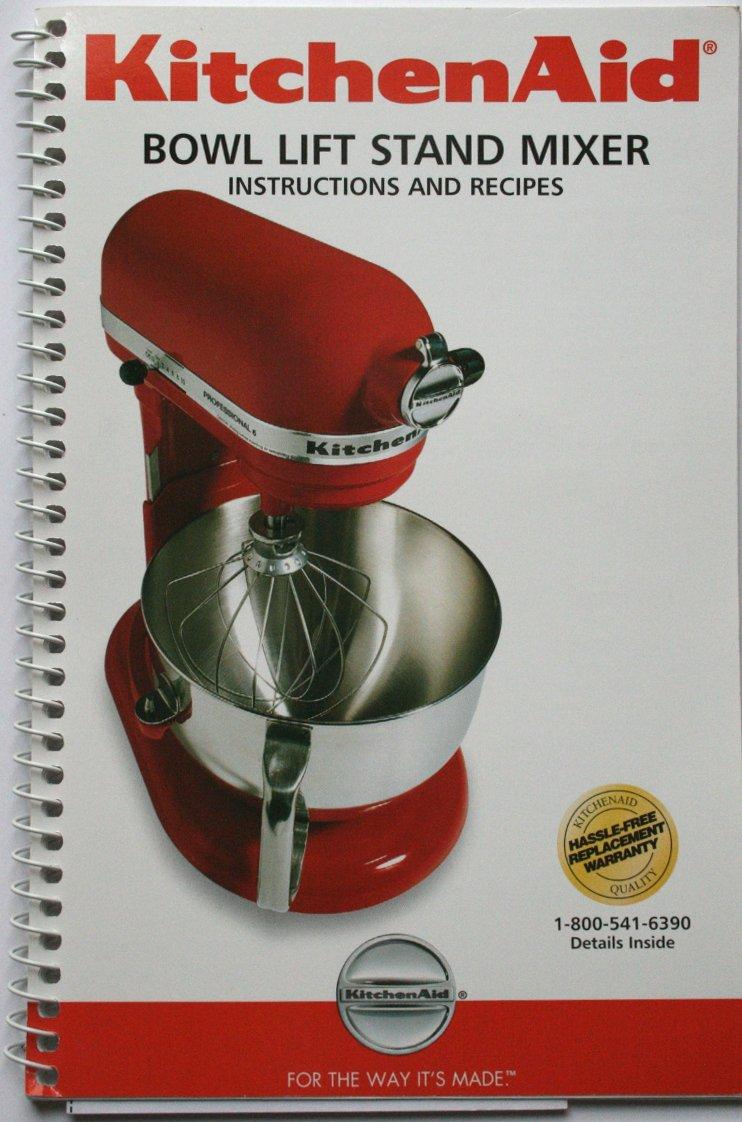 kitchenaid mixer manuals