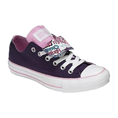 1c70f117d185 Converse Women s Adult Chuck Taylor All Star Double Tongue Ox Sports Shoes  (4UK   36.5