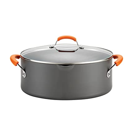 Amazon Rachael Ray Hard Anodized Nonstick 8 Quart Covered Oval