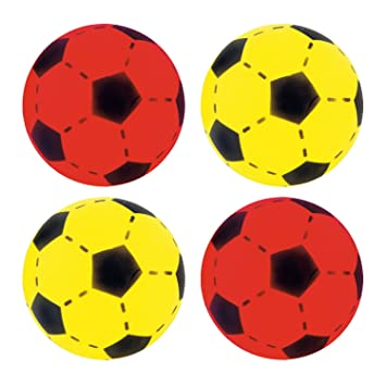 20 cm farblich sortiert Spielzeug für draußen Softfußball ca