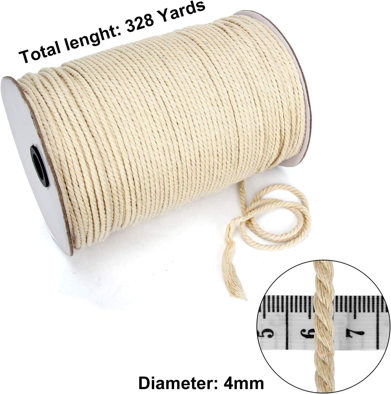 250mt roll Curtain Track 4mm diameter Cord Strong Braided Rail cording Reel