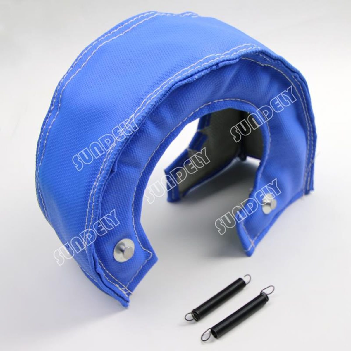 SUNDELY® BLUE RACING TURBOCHARGER T4 TURBO HEAT SHIELD FIBER BLANKET