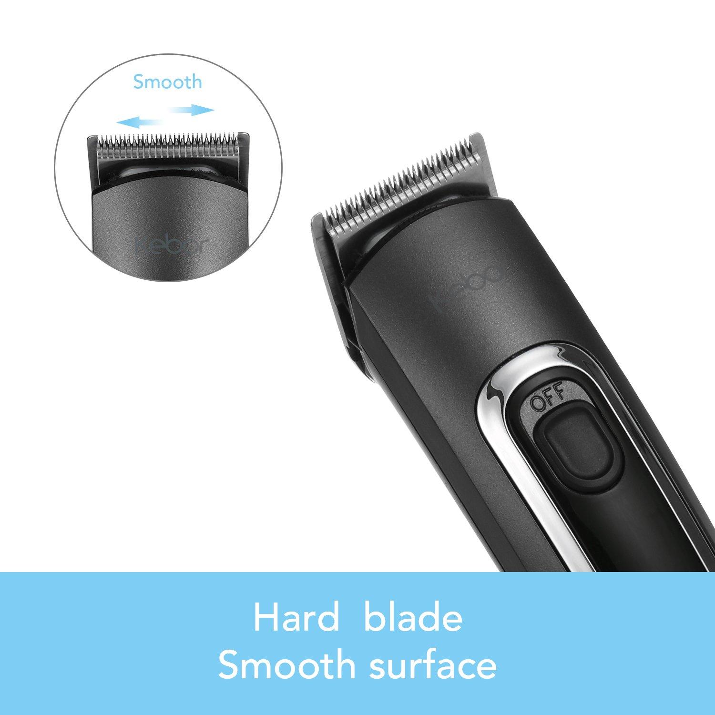 3 In 1 Men's Beard Trimmer Kit, Nose Hair Mustache Trimming Hair Clipper Set